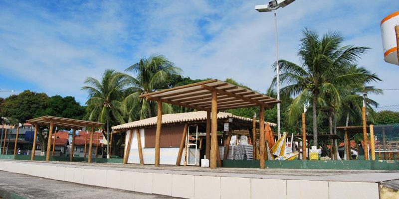 Bar da praia Condomínio Parque Enseada do Sol