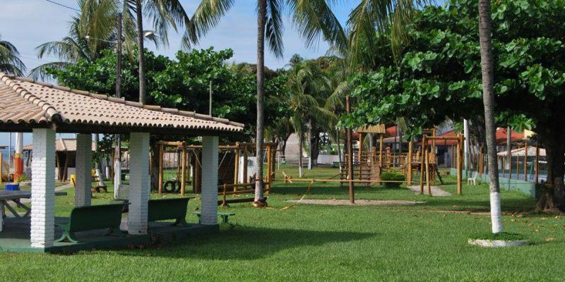Área verde Condomínio Parque Enseada do Sol